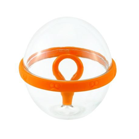 Batidor de huevos en forma de bola .