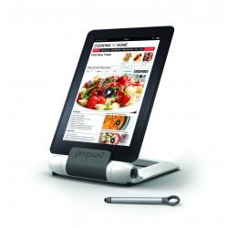 Soporte para tablet color blanco