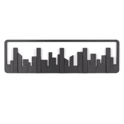 Percha de pared Skyline Multi Negro
