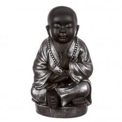 Figura buda surte sentado resina 42 cm decoracion