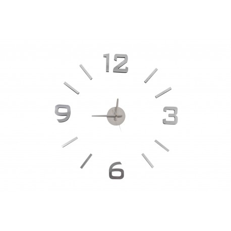 Reloj Adhesivos de pared eva/metal acolchado 60x60cm