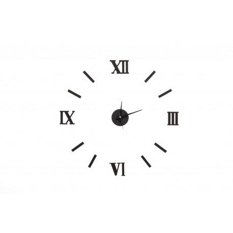 Reloj Adhesivos de pared eva/metal acolchado 50x50 cm Romanos
