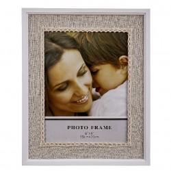 Portafoto de madera basico romantico 15 x 20 cm