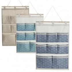 Organizador colgante para baño de 8 bolsillos diseño original dream 3/c