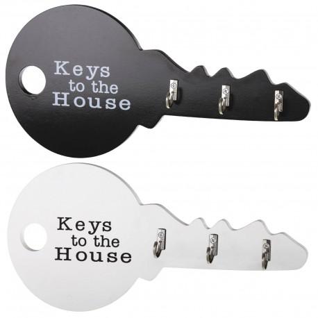 Perchas cuelgallaves diseño original en forma de llave Pack 2 ud.