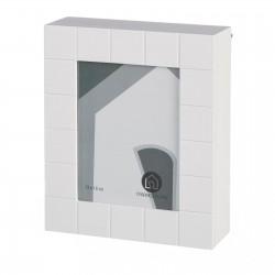 Caja de llaves moderna blanca de madera para la entrada Fantasy