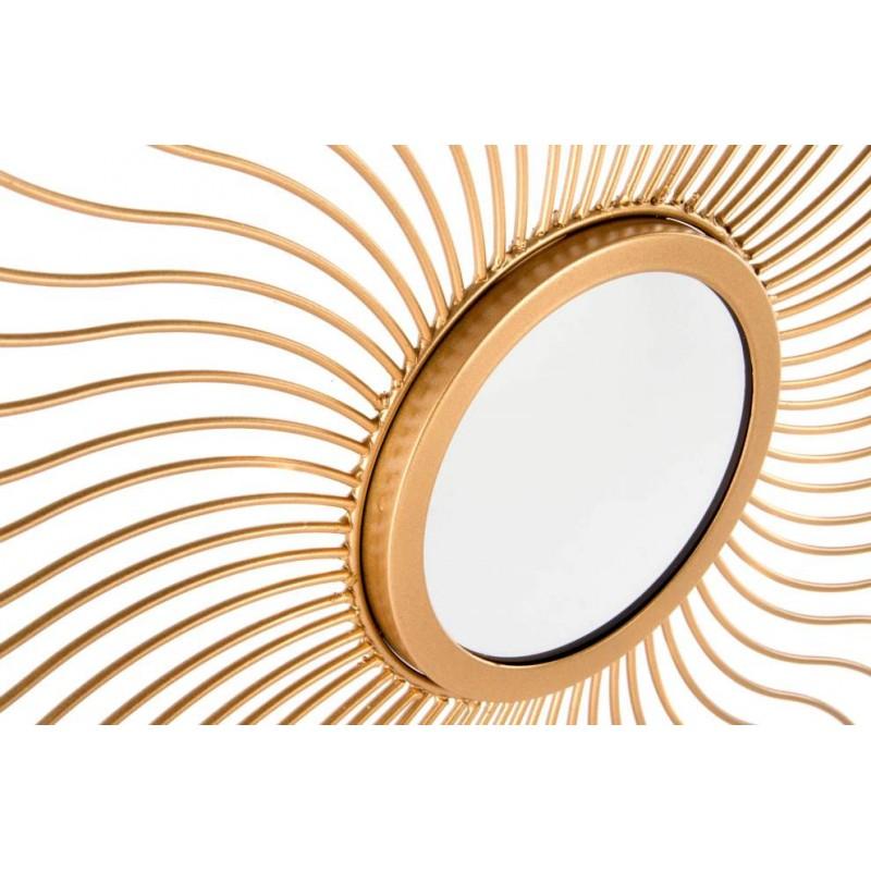 Espejo de pared dorado de metal para decoracion sol nacido - Espejo sol dorado ...