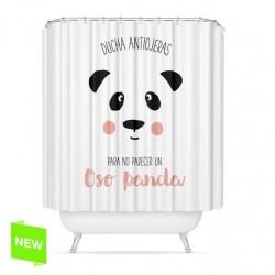 "Cortina de baño original diseño ""PANDA"" peva 180 x 200cm"