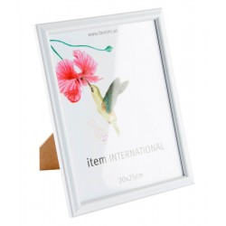 Marco foto de plastico basico de 20x25 cm
