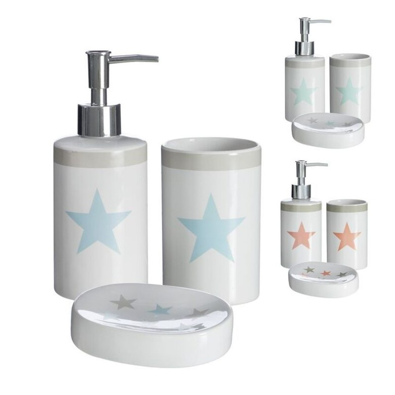 Accesorios de ba o modernos estrella de cer mica para for Ceramica para cuartos