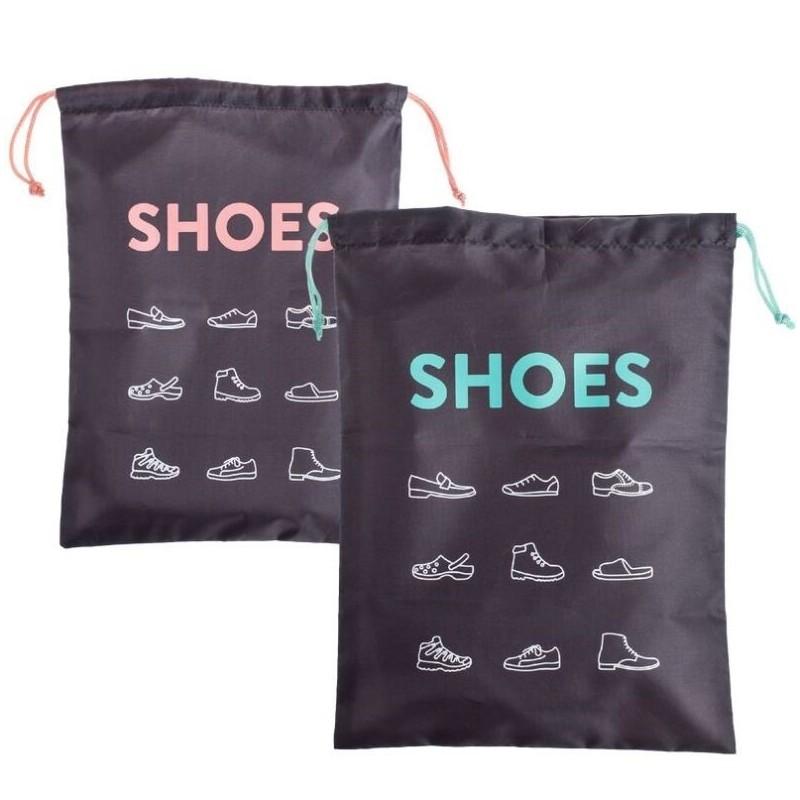 Bolsas de viaje para zapatos 30x40 cm pack 2 bolsas - Baldas para zapatos ...