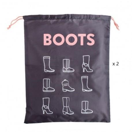 """Bolsas de viaje para botas 40x50 cm """"""""Pack 2 bolsas"""""""""""