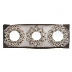 Espejos de pared árabes dorados para decoración Arabia