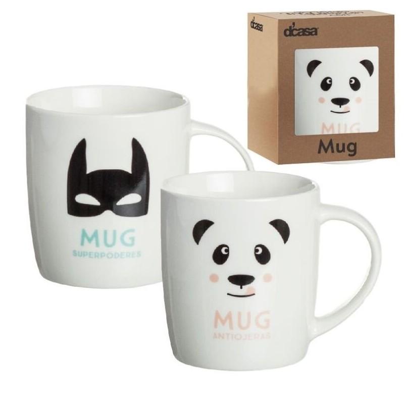 Tazas originales heroe panda en caja de regalo for Tazas de te originales