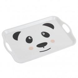 "Bandeja melamina infantil """"Panda"""" 45 x 31 x 2,8 cm"
