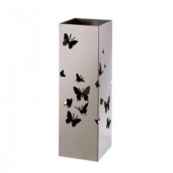 Paragüero gris diseño romántico de metal para la entrada France