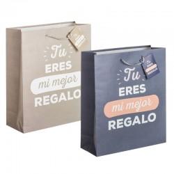Pack 3 Bolsas papel m Mi mejor regalo