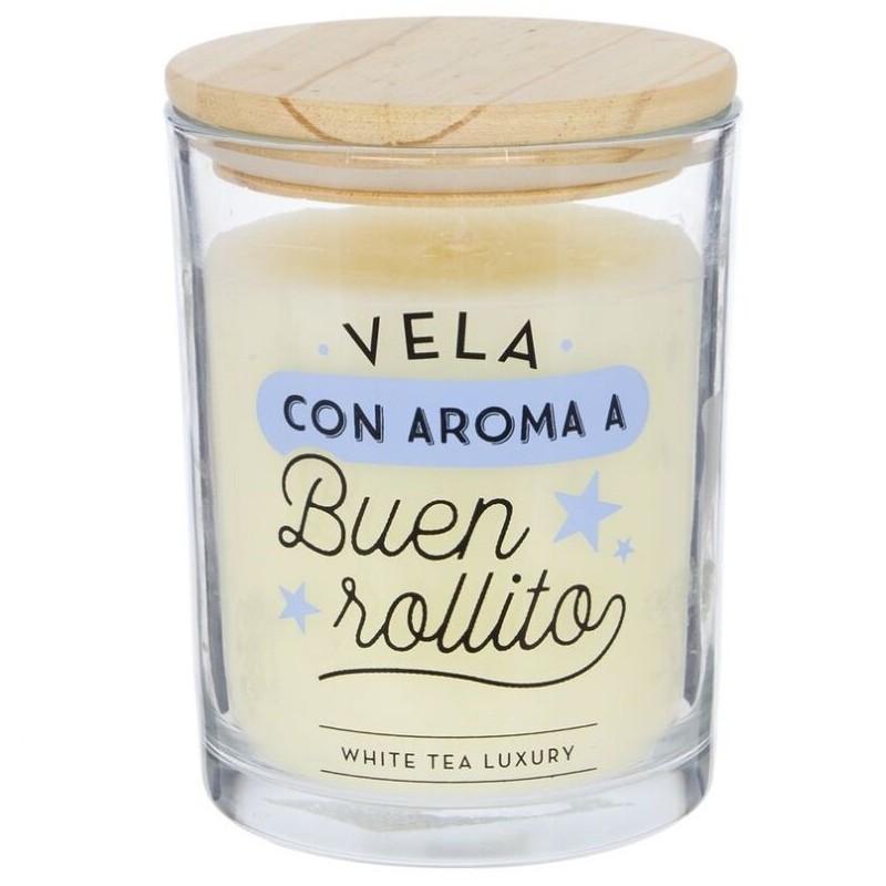 Vela aromatica buen rollito duracion 70 horas - Etiquetas para velas ...