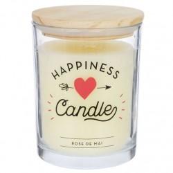 "Vela aromatica ""HAPPINESS"" duracion 70 HORAS"