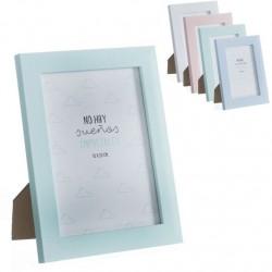 Portafotos plastico moderno diseño original frases 15x20 cm