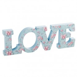 Letras decorativas romanticas love floral .