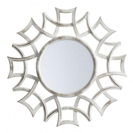 Juego de 3 espejos pared crema