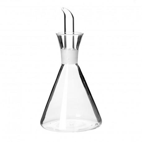 Aceitera antigoteo cristal 11 x 11 x 21,50 cm capacidad: 500 cc. en caja de color