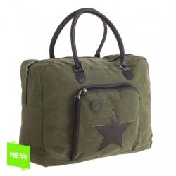 Bolsa estrella verde 50x17x40 cm .