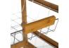 Mesa verdulero básico marrón bambú