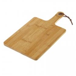 Tabla para cortar bambú 38 x 20 x 1,20 cm .