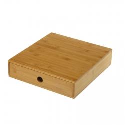 Caja cápsulas bambú 30,50 x 32,50 x 7,50 cm dolce gusto.