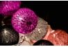 Bolas rosa de Algodón Luz 10 leds 6x150 cm .