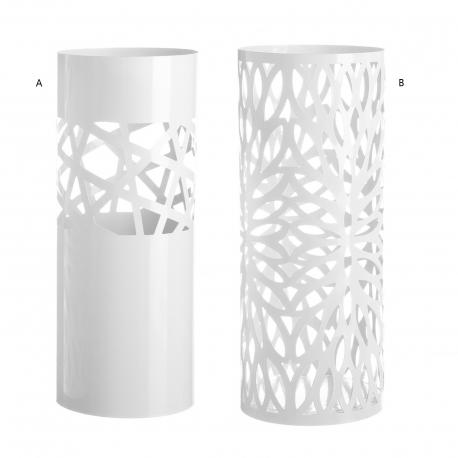 Paragüero blanco 2/m metal 19,50 x 19,50 x 49 cm .