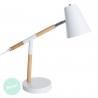 Lámpara escritorio nórdica blanca de madera para decoracion vitta.