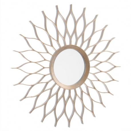 Espejo de pared cobre champagne 50 cm - Espejos decorativos amazon ...