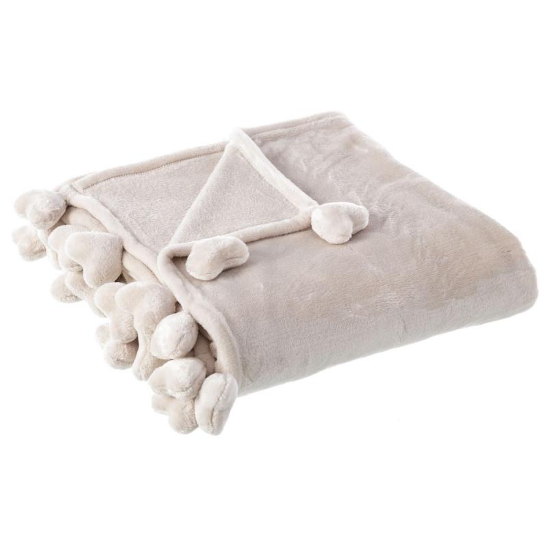 Manta para pie de cama rom ntica blanca - Ikea mantas para camas ...