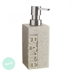"Dispensador jabón ""BATH"" arena para cuarto de baño Factory"