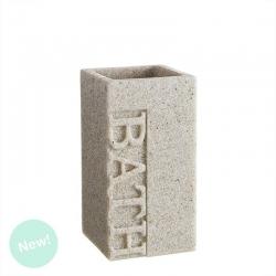 """Vaso jabón """"BATH"""" arena para cuarto de baño Factory"""