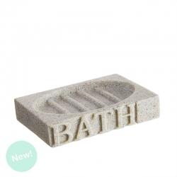 """Jabonera arena """"BATH"""" para cuarto de baño Factory"""