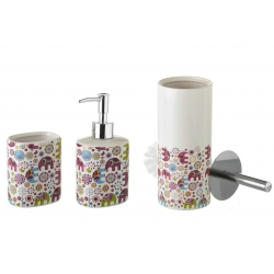 Set de baño infantil elefantes de cerámica para cuarto de baño .