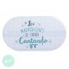 "Alfombra bañera/ducha antideslizante original ""CANTANDO"""
