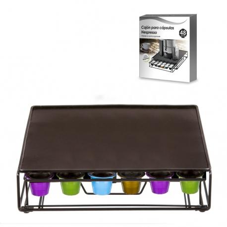 caja dispensador capsulas nespresso 48 units