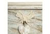 Cajonera de 5 cajones provenzal beige de madera para cuarto de baño Vitta