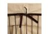 Cestos multiusos modernos marrones de metal para dormitorio Bretaña