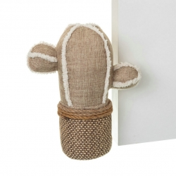 Tope puerta original cactus de tela / arena .
