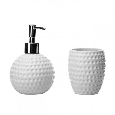 Set de baño nórdicos blancos de cerámica para cuarto de baño Arabia