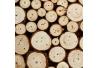 Mesita auxiliar étnica beige de madera para salón Fantasy