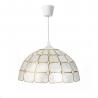 Lámpara de techo para salón vintage crema-oro Fantasy
