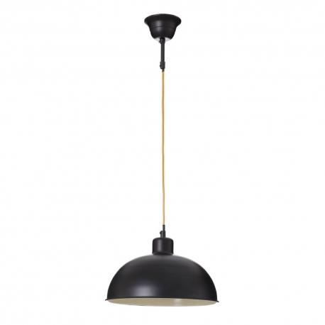 Lámpara de techo vintage negra de metal para oficina Factory