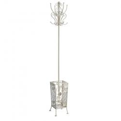 Perchero paraguas clásico beige de metal para la entrada de 178 cm Sol Naciente